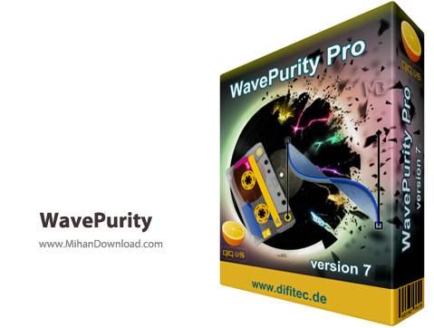 WavePurity نرم افزار بازسازی آهنگ ها WavePurity Professional 7 61