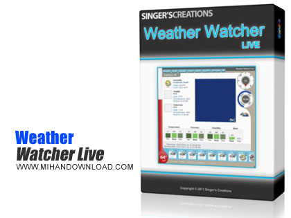 Weather Watcher Live دانلود نرم افزار دیدن کردن و نمایش اوضاع آب و همچنین هوا Weather Watcher Live v7.2.112