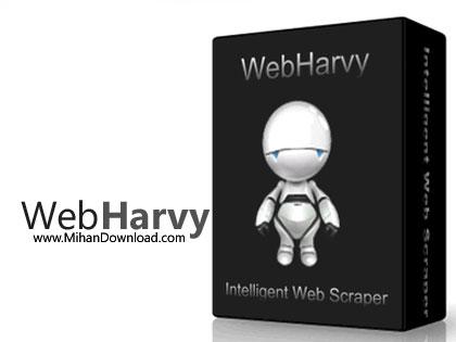 WebHarvy دانلود نرم افزار استخراج اطلاعات وب سایت SysNucleus WebHarvy v5.2.0.155