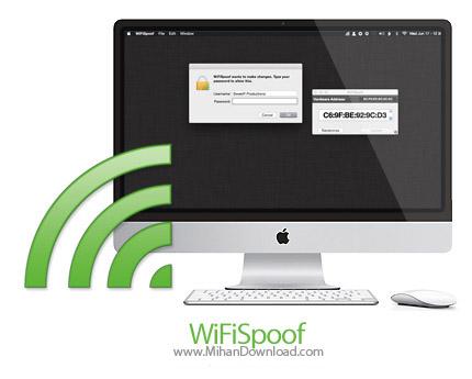 WiFiSpoof icon دانلود WiFiSpoof نرم افزار تغییر مک آدرس