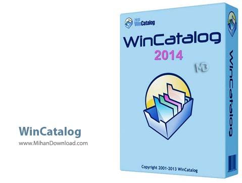 WinCatalog نرم افزار مرتب سازی فایل ها WinCatalog 2014 v6 2