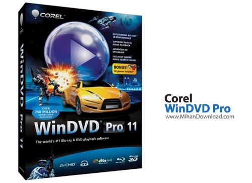 WinDVD Pro نرم افزار پخش فیلم با کیفیت بالا Corel WinDVD Pro 11 6 1 9