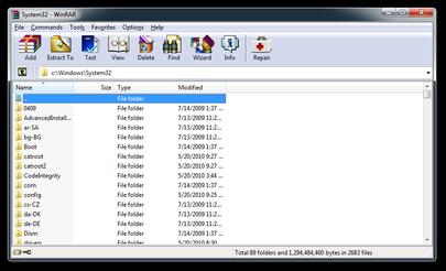WinRAR screenshot دانلود WinRAR 5.30 Final نرم افزار فشرده سازی
