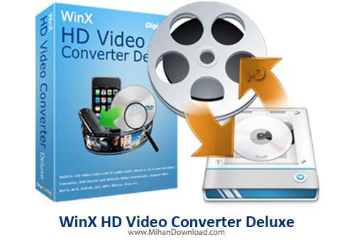 WinX HD Video Converter Deluxe دانلود WinX HD Video Converter Deluxe 5 0 0 نرم افزار تبدیل فرمت های ویدیویی