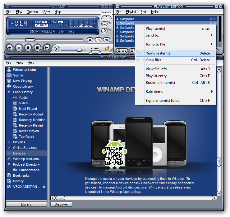 Winamp 5 70 دانلود Winamp Pro 5 666 Build 3510 نرم افزار پخش فایل های صوتی و تصویری