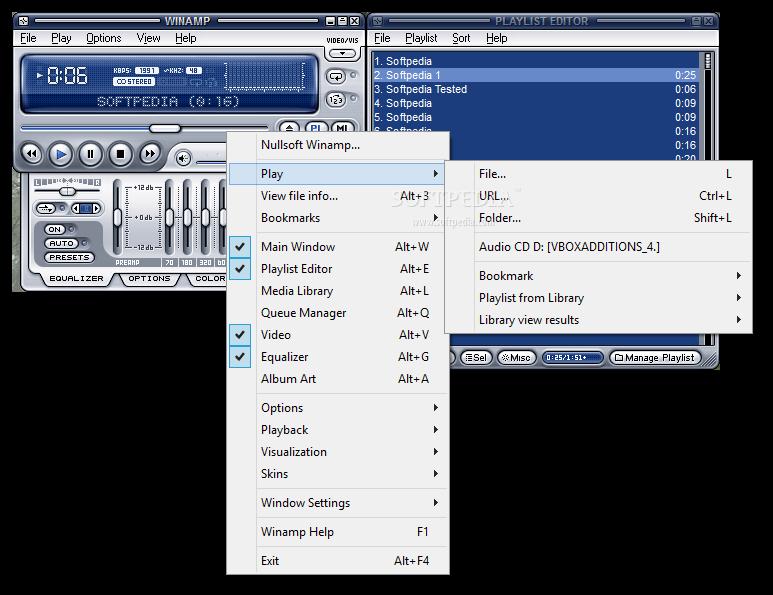 Winamp 5 71 دانلود Winamp Pro 5 666 Build 3510 نرم افزار پخش فایل های صوتی و تصویری