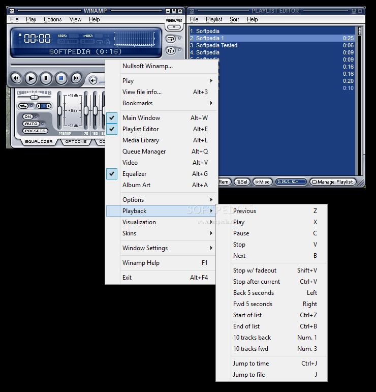Winamp 5 73 دانلود Winamp Pro 5 666 Build 3510 نرم افزار پخش فایل های صوتی و تصویری