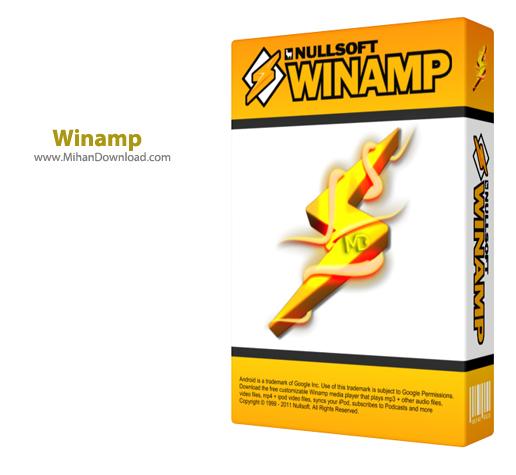 Winamp1 دانلود Winamp Pro 5 666 Build 3510 نرم افزار پلیر وینمپ