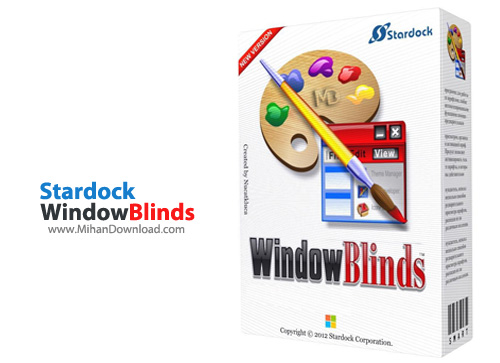 WindowBlinds دانلود نرم افزار تغییر چهره و زیباسازی ویندوز Stardock WindowBlinds 8 02