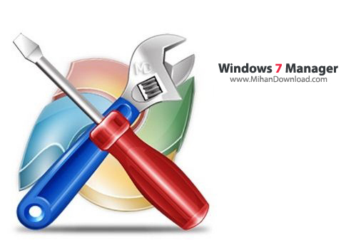 Windows 7 Manager2 دانلود Windows 7 Manager 4.4.5.0 نرم افزار بهینه سازی ویندوز سون
