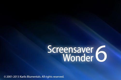 Wonder  دانلود Blumentals Screensaver Wonder 6.10.0.67 نرم افزار ساخت اسکرین سیور