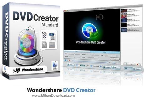 Wondershare DVD Creator نرم افزار تبدیل فایل ویدیویی به دی وی دی Wondershare DVD Creator 3 0 0 13