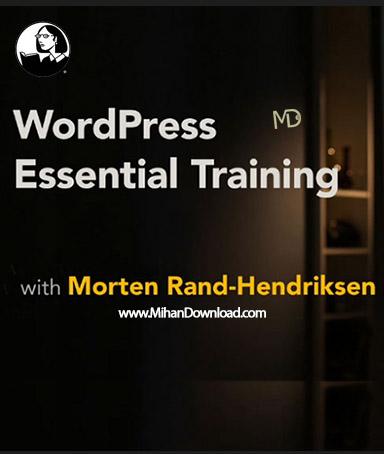 WordPress Essential Training دانلود آموزش کامل کار با سیستم مدیریت محتوای وردپرس WordPress Essential Training
