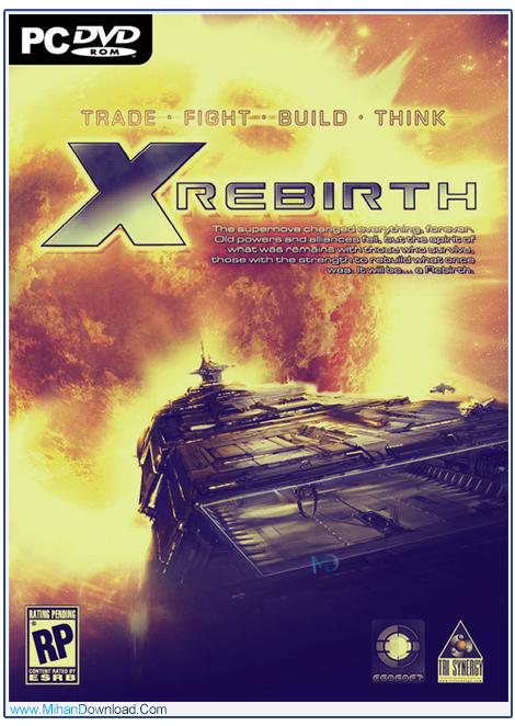 X Rebirth 1 دانلود بازی تولد دوباره X Rebirth برای کامپیوتر