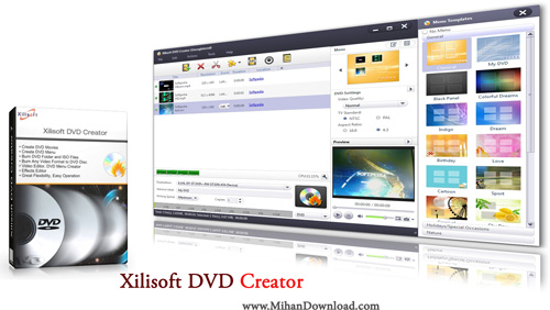 Xilisoft DVD Creator1 دانلود نرم افزار ساخت و تبدیل دی وی دی  Xilisoft DVD Creator 7 1 3 20131111