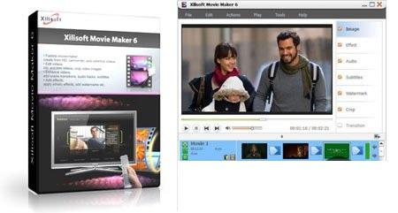 Xilisoft Movie Maker دانلود نرم افزار ساخت ویدئو کلیپ خانوادگی Xilisoft Movie Maker 6.6.0