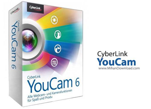 YouCam دانلود CyberLink YouCam Deluxe 6 0 2326 نرم افزار مدیریت و ضبط تصاویر وبکم
