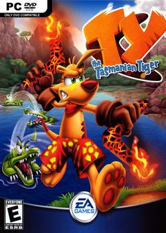 دانلود بازی ماجراجوئی ببر TY the Tasmanian Tiger برای کامپیوتر