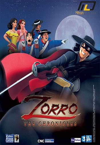 Zorro the Chronicles 2017 دانلود فصل اول انیمیشن Zorro the Chronicles 2017 افسانه زورو