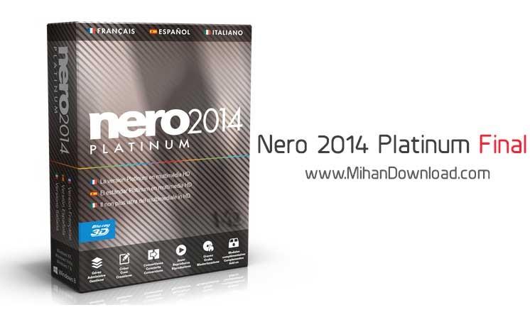 a1 نرم افزار نرو Nero 2014 Platinum 15 0 07100 Final