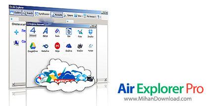 airexppro v1.4 دانلود Air Explorer Pro نرم افزار مدیریت فایل های ابری