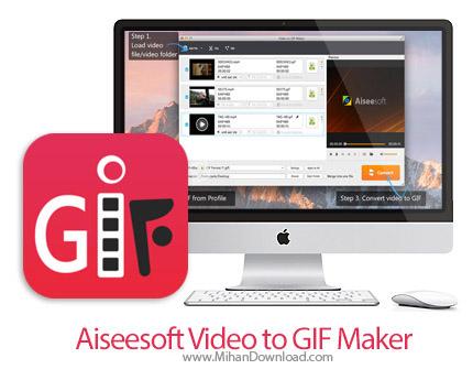 aiseesoft video to gif maker icon دانلود Aiseesoft Video to GIF Maker نرم افزار تبدیل فیلم به GIF در مک