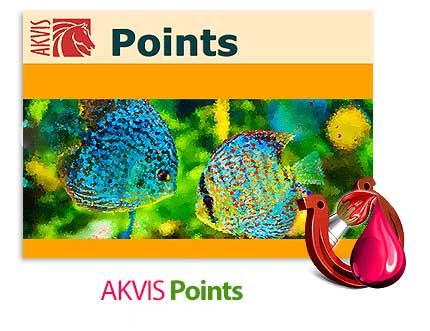 akvis points دانلود AKVIS Points نرم افزار تبدیل عکس به طرح های پیکسلی