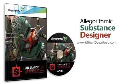 allegorithmic substance designer 1 دانلود Allegorithmic Substance Designer ساخت بافت گرافیکی در ویندوز