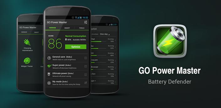 anars GO Battery Saver Power Widget. دانلود نرم افزار بهینه ساز باتری دستگاه GO Battery Saver & Power Widget 5.35.3 اندروید