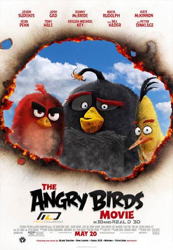 angry movie 1 دانلود انیمیشن پرندگان خشمگین 2016 Angry Birds
