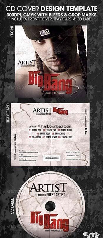 artist فایل لایه باز سی دی Big Bang Complete CD