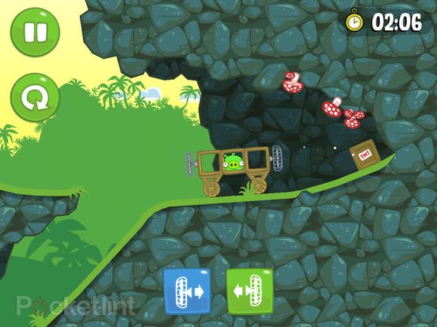 bad piggies 1.3.0 screen دانلود بازی Bad Piggies برای کامپیوتر