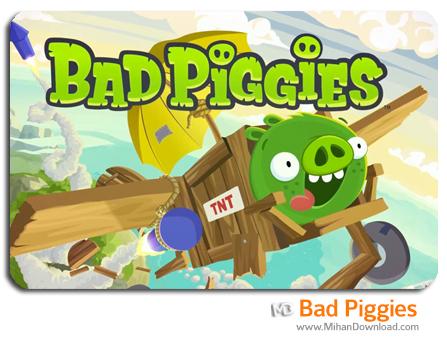 badpiggy دانلود بازی Bad Piggies برای کامپیوتر