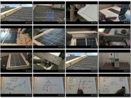 building solar panels1 فیلم آموزش مجهز کردن خانه به سلول خورشیدی