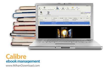 calibre e book management دانلود Calibre نرم افزار دسته بندی کتاب های الکترونیکی