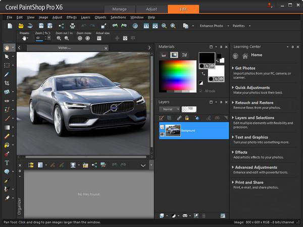 corel paintsh2 دانلود Corel PaintShop Pro X6 v16 1 0 48 نرم افزار ویرایش تصاویر