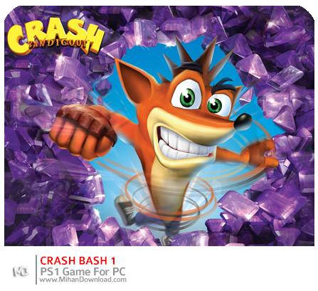 crash1 دانلود بازی های PS1 برای کامپیوتر : Crash Bandicoot
