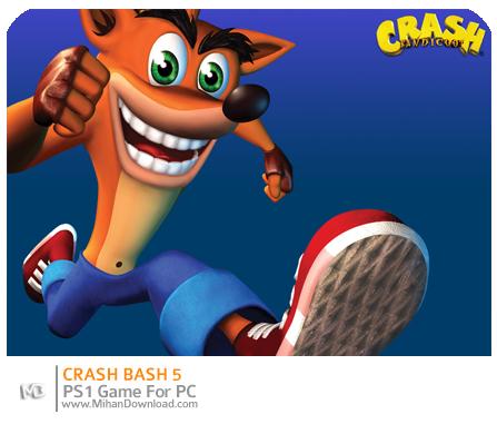 crash5 دانلود بازی های PS1 برای کامپیوتر : Crash Bandicoot 5