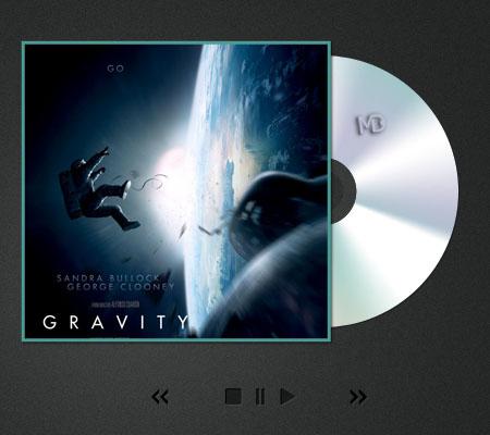 """ddf موسیق متن فضایی و زیبای فیلم """" جاذبه """"   استیون پرایس"""