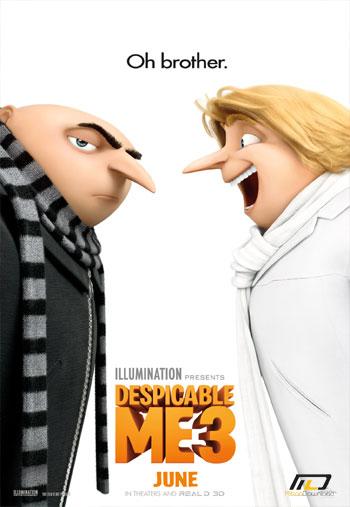 despicable me 3 دانلود انیمیشن زیبای Despicable Me 3 2017