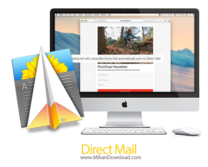 direct mail icon دانلود Direct Mail نرم افزار ارسال ایمیل انبوه در مک