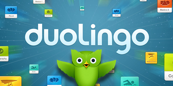 duolingo cover دانلود نرم افزار آموزش زبان Duolingo 3.9.0 اندروید