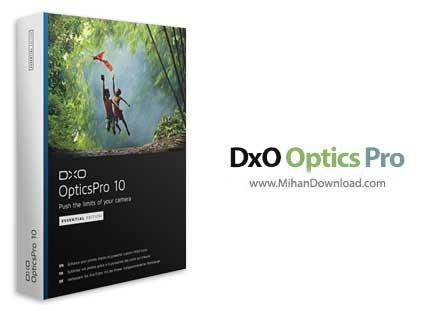dxo optics pro 1 دانلود DxO Optics نرم افزار بهینه سازی تصاویر