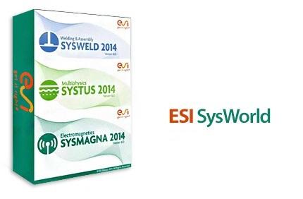 esi sysworld دانلود نرم افزار مدل سازی 3 بعدی فرآیند های جوشکاری ESI SysWorld 2014 16.0