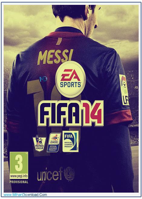 دانلود بازی فیفا 14 برای کامپیوتر FIFA 14 Pc