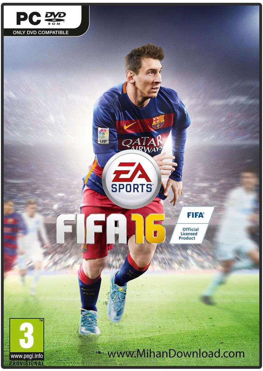نتیجه تصویری برای دانلود بازی FIFA 16 برای PC