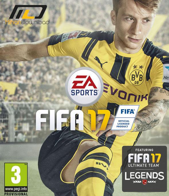 fifa17 دانلود بازی FIFA 17 برای PC