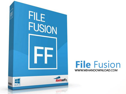 file fusion دانلود نرم افزار حذف فایل های تکراری سیستم Abelssoft FileFusion 2018 v1.35 Build 103