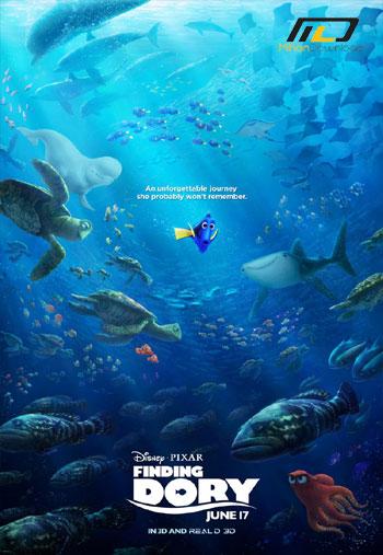 finding dory دانلود دوبله فارسی انیمیشن در جسجت و جوی دوری  ۲۰۱۶ Finding Dory