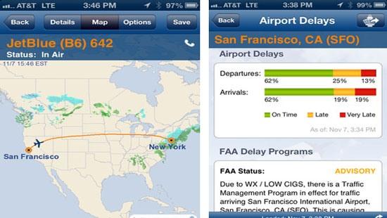 flight برنامه های مفید IOS برای کارمندان و مدیران